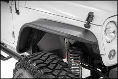 Rough Country Tubular Front Fender Flares For 2007-18 Jeep Wrangler JK 2 Door & Unlimited 4 Door Models 10531