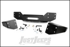 Rough Country Front Hybrid Stubby Winch Bumper For 2007-18 Jeep Wrangler JK 2 Door & Unlimited 4 Door 1059