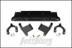 Rough Country Winch Mounting Plate For 2007-18 Jeep Wrangler JK 2 Door & Unlimited 4 Door Models 1162