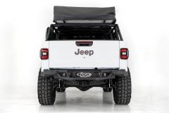 Addictive Desert Designs Stealth Fighter Rear Bumper (Black) For 2020+ Jeep Gladiator JT R971121280103
