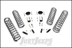"""Rough Country 2½"""" Suspension Spring System Lift Kit For 2007-18 Jeep Wrangler JK 2 Door 624"""
