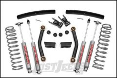 """Rough Country 4½"""" Series II Suspension Lift System With Premium N3.0 Series Shocks For 1986-92 Jeep Comanche Pick Up (With Add-A-Leafs) 62630"""