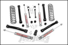 "Rough Country 3½"" Suspension Spring System Lift Kit With Premium N3.0 Series Shocks For 1993-98 Jeep Grand Cherokee ZJ (8 Cylinder Models) 632.20"