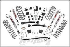 "Rough Country 4"" X-Series Suspension Lift System With N3 Series Shocks For 1999-04 Jeep Grand Cherokee WJ 639P"