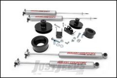 """Rough Country 2"""" Spring Spacer Lift Kit With Premium N3.0 Series Shocks For 1997-06 Jeep Wrangler TJ & TJ Unlimited Models 658N2"""