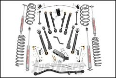 """Rough Country 6"""" X-Series Suspension Lift System With Premium N3.0 Series Shocks For 1997-06 Jeep Wrangler TJ & Jeep Wrangler TJ Unlimited 66220"""