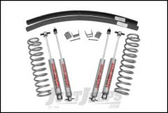 """Rough Country 3"""" Suspension Lift System With Premium N3.0 Series Shocks With Add-A-Leaf For 1984-01 Jeep Cherokee XJ 670N2"""