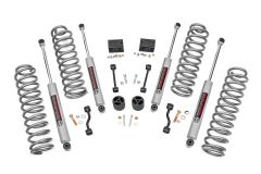 Rough Country 2.5in Suspension Lift Kit with Springs For 2018+ Jeep Wrangler JL 2 Door Models