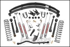 "Rough Country 6½"" X-Series Suspension Lift System With Premium N3.0 Series Shocks With Full Leafs For 1984-01 Jeep Cherokee XJ 69620"