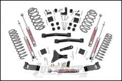 "Rough Country 4"" Suspension Lift System With N3.0 Series Shocks For 1999-04 Jeep Grand Cherokee WJ 698.20"