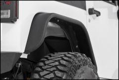 Rough Country Tubular Rear Fender Flares For 2007-18 Jeep Wrangler JK 2 Door & Unlimited 4 Door Models 10532