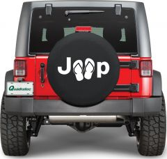 Quadratec Jeep Sandals Tire Cover SANDALS-