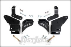 """Rough Country Control Arm Drop Relocation Bracket Kit For 1984-01 Jeep Cherokee XJ (With 4½-6½"""" Lift) 1627"""