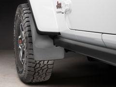 WeatherTech Mudflaps Front Set For 2018+ Jeep Gladiator JT & Wrangler JL Rubicon Models 110100