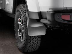WeatherTech Mudflaps Rear Set For 2020+ Jeep Gladiator JT Rubicon Models 120112