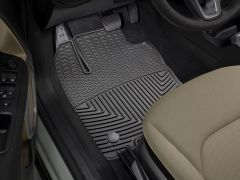 WeatherTech Front All Weather Front Floor Mats In Black For 2015-17 Jeep Renegade Models W397