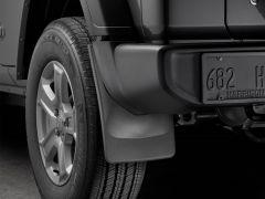 WeatherTech Mudflaps Rear Set For 2018+ Jeep Wrangler JL Sport Models 120099