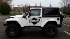 """Just Jeeps 3.5"""" AEV Lift Kit For 2007-18 Jeep Wrangler JK 2 Door (Installed)"""