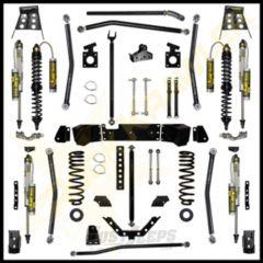 """Rock Krawler 4.5"""" Trail Gunner Long Arm System Lift Kit With Coil Overs For 2007-18 Jeep Wrangler JK Unlimited 4 Door Models JKGNR45-4"""