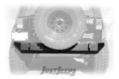 Trail Head Customs Rear Bumper In Black For 2007-18+ Jeep Wrangler JK 2 Door & Unlimited 4 Door Models JKRB-BLK