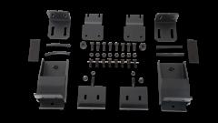 Body Armor 4X4 Roof Rack Mounting Kit (Textured Black) For 2018+ Jeep Wrangler JL 2 Door & Unlimited 4 Door Models
