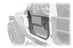 Fab Fours Front Half Tube Doors For 2018+ Jeep Wrangler JL 2 Door & Unlimited 4 Door Models JL1032-1