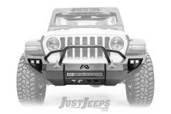 Fab Fours Vengeance Front Bumper With Pre-Runner Guard For 2018+ Jeep Gladiator JT & Wrangler JL 2 Door & Unlimited 4 Door Models JL18-D4652-1