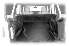 Dirtydog 4X4 Cargo Liner For 2018+ Jeep Wrangler JL Unlimited 4 Door Models JL4CL18