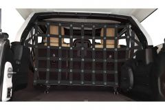 Dirtydog 4X4 Rear Seats Screen Cargo / Pet Divider For 2018+ Jeep Wrangler JL Unlimited 4 Door Models JL4PD18R-