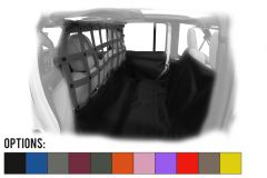 Dirtydog 4X4 Screen Cargo / Pet Divider With Hammock For 2018+ Jeep Wrangler JL Unlimited 4 Door Models JL4PH18H-