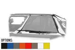 Dirtydog 4X4 Rear Safari Style Sun Screen For 2018+ Jeep Wrangler JL Unlimited 4 Door Models JL4S18R1-