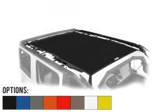 Dirtydog 4X4 Safari Style 1 Piece Sun Screen Kit For 2018+ Jeep Wrangler JL Unlimited 4 Door Models JL4S18S1-