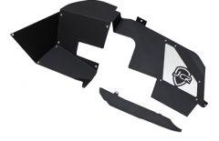 JCR Off Road Falcon Shock Inner Fender Kit Front for 2018+ Jeep Wrangler JL and Gladiator JT JLFX-FLCNIF-BARE