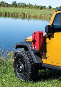MORryde Driver Side Mount w/ Tray (Driver Side) For 2007-18 Jeep Wrangler JK 2 Door & Unlimited 4 Door Models JP54-018