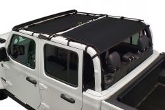 DirtyDog 4x4 Sun Screen Front and Rear for 20+ Jeep Gladiator JT JT4S19F2-