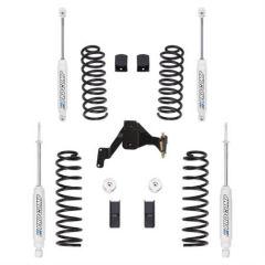 """Pro Comp 2.5"""" Tuned Suspension System For 2007-18 Jeep Wrangler JK 2 Door & Unlimited 4 Door EXPK3099B"""