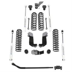 """Pro Comp 3.5"""" Stage II Lift Kit with Twin Tube Shocks For 2007-18 Jeep Wrangler JK Unlimited 4 Door EXPK3108B"""