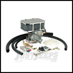 Omix-ADA Weber Carburetor Assembly For 1972-90 Jeep CJ Series & Wrangler YJ With 4.2L 2 Barrel 300 CFM (K551-34) 32/36 DGEV 17702.06