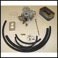 Omix-ADA Weber Carburetor Assembly For 1972-90 Jeep CJ Series & Wrangler YJ With 4.2L 2 Barrel 400 CFM (K551-38) 17702.07