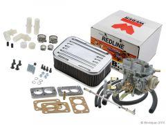 Omix-ADA Weber Carburetor Assembly For 1972-90 Jeep CJ Series & Wrangler YJ With 4.2L 2 Barrel 300 CFM (K551-34) 34/34 DGEV 17702.08