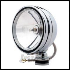 """KC HiLiTES 6"""" Daylighter 100 Watt Spot Single Pack In Chrome 1237"""