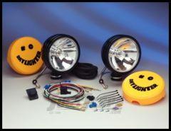 "KC HiLiTES 6"" Daylighter 100 Watt Spot Pair Pack System In Black 238"