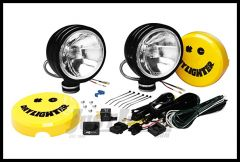 "KC HiLiTES 6"" Daylighter 100 Watt Spread Pair Pack System In Black 234"