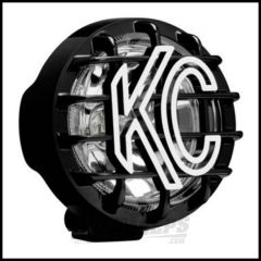 "KC HiLiTES 4"" Driving Light 55w In Black (Spread Beam) 1490"