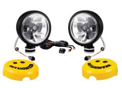 "KC HiLiTES 6"" Daylighter with Gravity LED G6 Pair Pack System Driving in Black 653"
