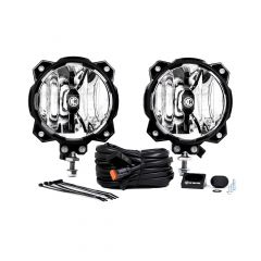 KC HiLiTES Gravity LED Pro6 Single Pair Pack System with Spot Beam Pattern (20 Watts) 91301