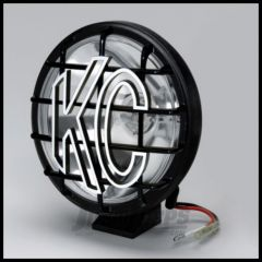"KC HiLiTES 6"" Apollo Pro Series 100 Watt Long Range Light With Stone Guard In Black 1150"