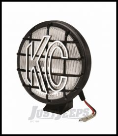 "KC HiLiTES 6"" Apollo Pro Series 100 Watt Fog Light With Stone Guard In Black 1152"