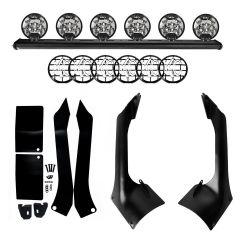 "KC HiLiTES 50"" Overhead Xross Bar Light Mount Kit for 18+ Jeep Wrangler JL & 20+ Gladiator JT 9706-"