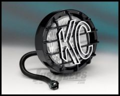 KC HiLiTES Replacement Fog Light In Black For 2005-06 Jeep Wrangler TJ & Unlimited 1133